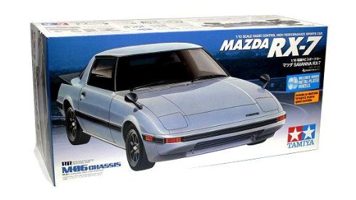 Rcecho® Tamiya Ep Rc Car 1/10 Mazda Rx-7 M06 Sports Car With Esc 58493 With Rcecho® Full Version Apps Edition