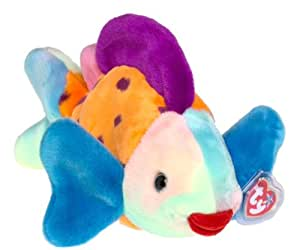 Ty lips the fish beanie buddy 10 long toys for Fish beanie baby