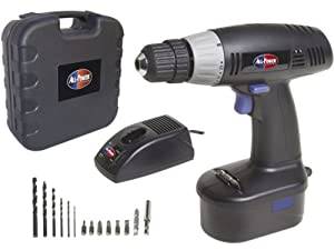 All Power America APT1001 19.2 Volt 3/8-inch Cordless Drill