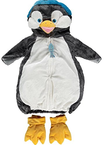 [Baby Penguin Halloween Costume for Trick or Treat Dress Up with Orange Feet] (Happy Feet Penguin Costumes)