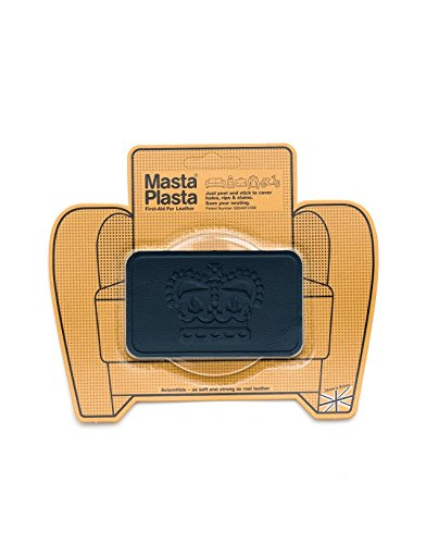 Best Deals! MastaPlasta Peel and Stick First-Aid Leather Repair Band-Aid. Crown design 4-inch by 2.4...