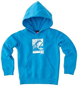 Quiksilver Rib C5 MSP Sweatshirt à capuche garçon Brillant Blue FR : 12 ans (Taille Fabricant : T12)