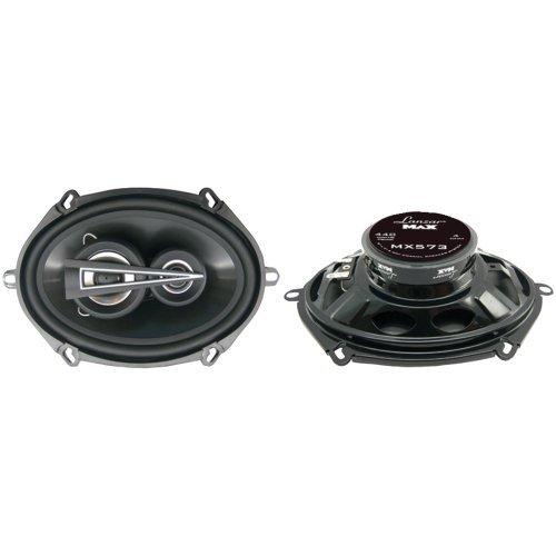 Lanzar Mx573 Max Series 5-Inch X 7-Inch 440-Watt 3-Way Coaxial Speakers (Pair)