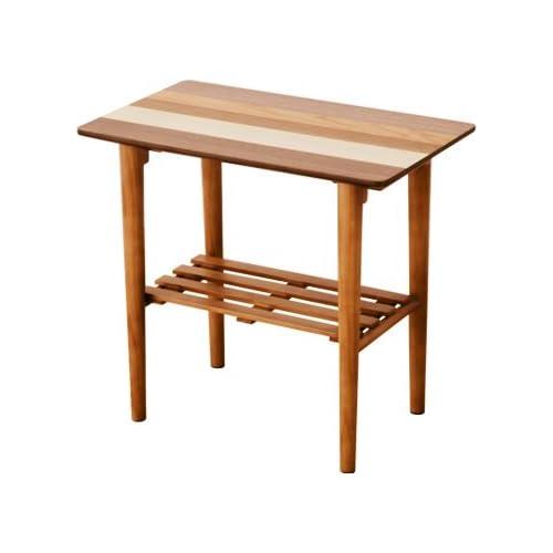 エムール サイドテーブル「バオム」 55×32×50cm 木製