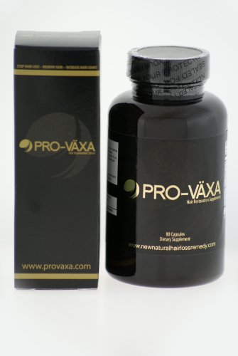 Hair Loss - Pro-växa Hair Growth Treatment Vitamins, Men and Women, Developed By Dr. Robert Carlson, Guaranteed Restoration and Regrowth - Clinically Tested, #1 Doctor Recommended 30 Day Supply - Best Hair Loss Solution!