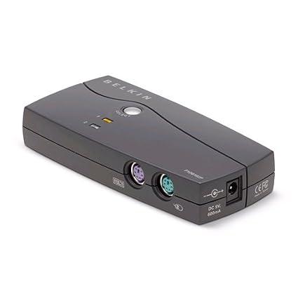 Belkin Switch KVM 2 ports OmniView Série E avec 2 câbles