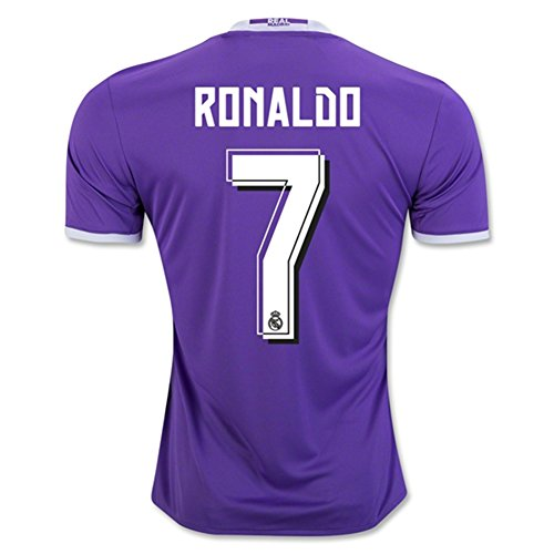 Real Madrid 2016 17 New Season 7 CRISTIANO RONALDO Away Soccer Jersey (Cristiano Ronaldo Number And Name compare prices)