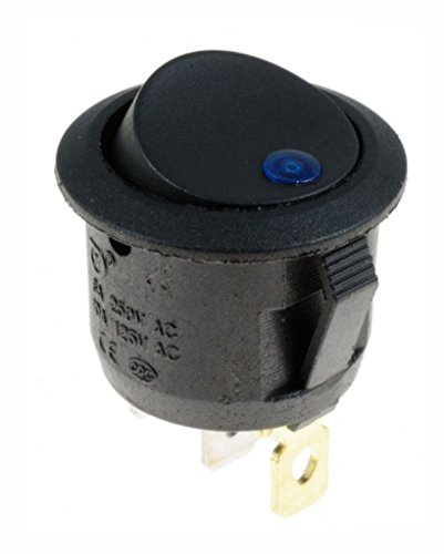 Outstanding® ON / OFF Round Boat Rocker Switch & Cover étanche
