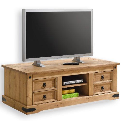 Mexico Möbel TV Möbel im Mexiko Stil, Pinie massiv 16513
