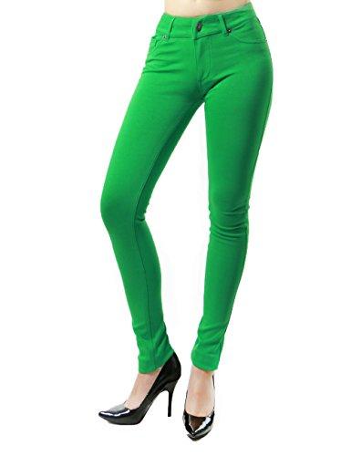 Brilliant  Petite Jeans Skinny Leg Kelly Green Wash  Jeans  Women  Macy39s