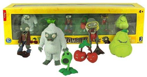 Plants vs Zombies Mini-Figure Set (6 Figures) (Plants Vs Zombies Toys Figures compare prices)