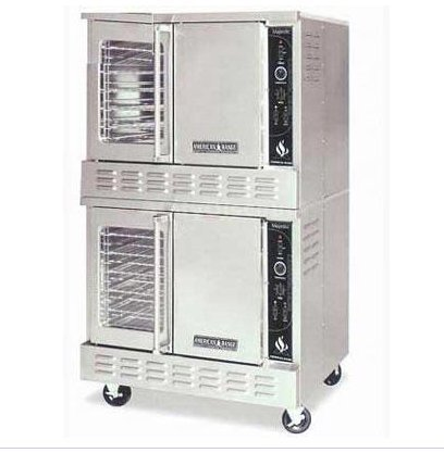 American Range Msd-2-Gl Majestic Double Stacked Convection Ovens, Gas