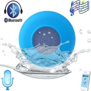 Blue - Waterproof Portable Wireless Bluetooth 3.0 Mini Speaker,Shower,Pool,Car,Handsfree Mic For Apple Iphone 4/4S,Iphone5/5S,Ipad,Ipod,Samsung Galaxy