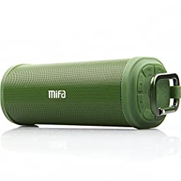 MIFA Bluetooth Wireless Stereo Speakers - Army Green