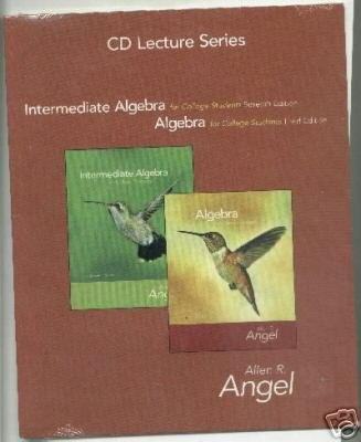 INTERMED.ALG.F/COLL..-CD LECTURE SERIES