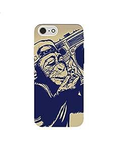 Iphone 7 nkt12r (43) Mobile Caseby Mott2 - Music Lover Ape