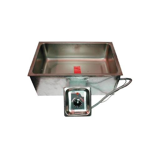 Apw Wyott Bm80D Hot Food Well Unit W/ Drain, Wet Or Dry Operation, Built-In, Bottom Mount, Each