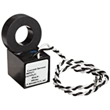 CR Magnetics CR9550-20 Current Sensor, 20 AC, +/-0.5% Accuracy, 50 - 400 Hz Frequency