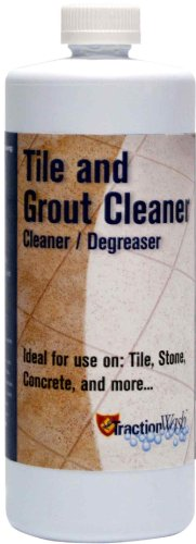 TractionWash TRWA32 1-Quart Heavy Duty Tile and Grout Cleaner (Tile Dye compare prices)