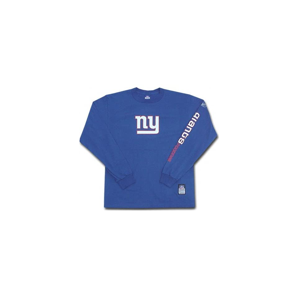 8cebcb1f3 New York Giants Long Sleeve Southpaw T Shirt Sports on PopScreen