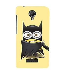 EPICCASE Superhero Minion Mobile Back Case Cover For Micromax Canvas Spark Q380 (Designer Case)