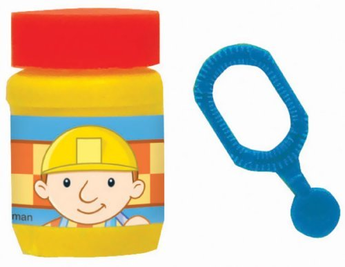 Amscan Bob The Builder Birthday Party Bubbles Favor, 0.6 oz, Blue/Yellow - 1