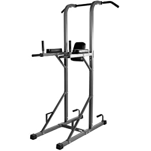XMark XM-4434 Power Tower with Dip Station and Pull Up Bar by XMark Fitness