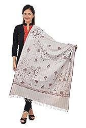 Handycraft Shawls Women's Woollen Shawl (Multi-Coloured)