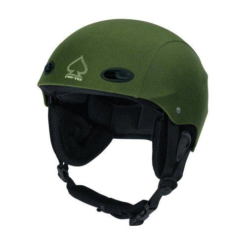 Pro-Tec Helm U ACE FREECARVE, Green Fabric 09, S