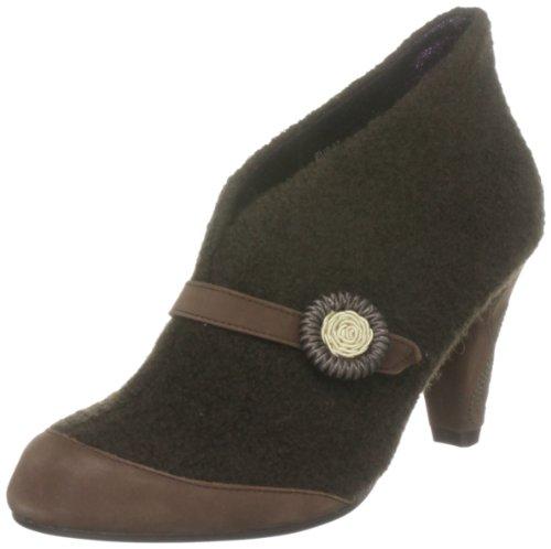 Poetic Licence Women's Open For Business Brown Booties Heels 3964-3A 6.5 UK, 40 EU