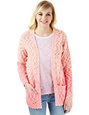 Angel Cotton Rich Dip Dye Slub Cardigan