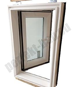 AFG Skylight PVC Dachfenster Warmdach Dachausstiegsfenster Ausstieg 55x78cm  BaumarktBewertungen