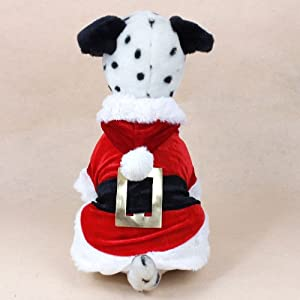 Christmas Dog Clothes Santa Dog Costumes Pet Apparel Design (S) by Colorfulhouse