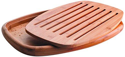 60491 Brotschneidebrett aus Bambus, 40x27x3cm
