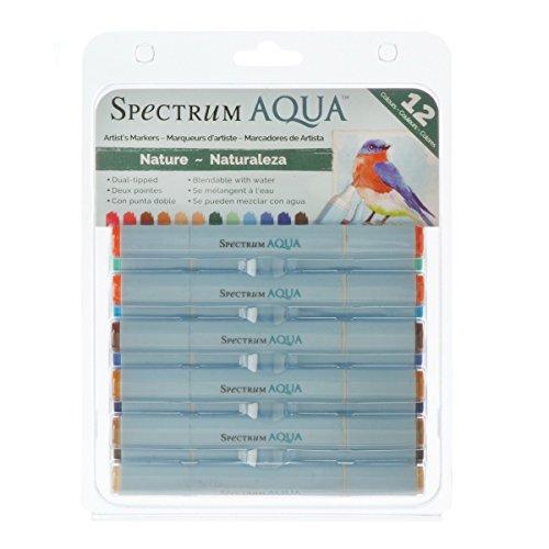 spectrum-noir-nature-aqua-markers-pack-of-12-multi-colour