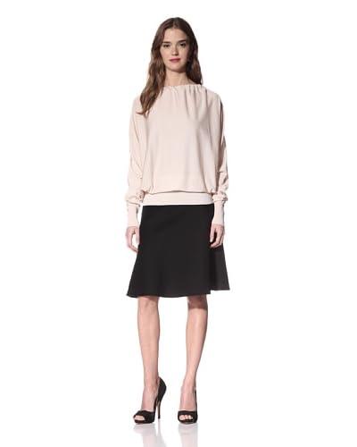 Nina Ricci Women's Silk Open Back Sweater  - Beige