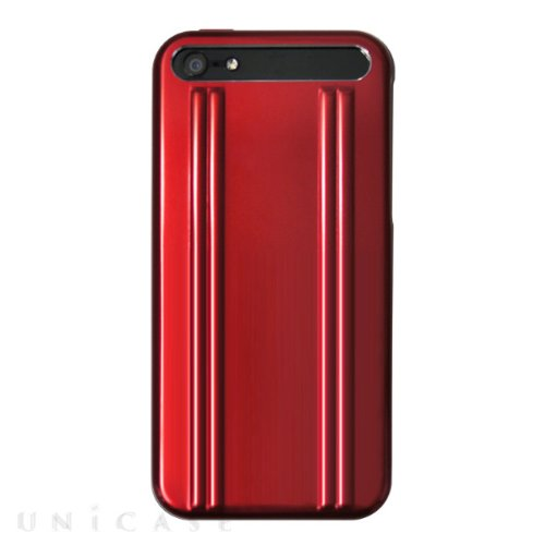 【iPhone5s/5 ケース】ZERO HALLIBURTON for iPhone5s/5 Red