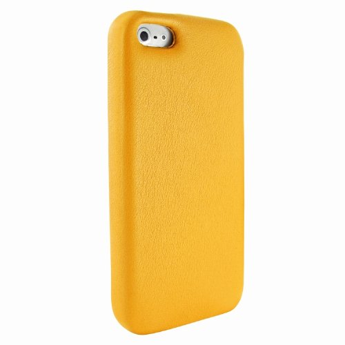 Best Price Apple iPhone 5 / 5S Piel Frama Yellow FramaGrip Leather Cover