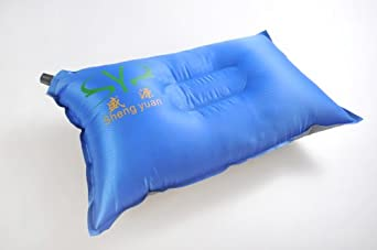 SY Ultralight Inflatable Camping Pillow Blue (TJL0023-01 US)