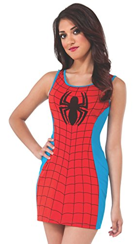 Rubie's Costume Women's Marvel Universe Adult Spiderman Tank Dress
