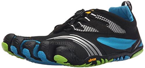 Vibram Five FingersKMD Sport LS - Scarpe fitness Uomo , Multicolore (Mehrfarbig (Black/blue/green)), 41 EU