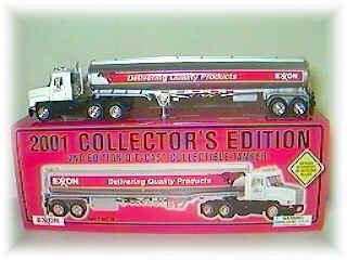 2001 Exxon Tanker Truck NEW u1011