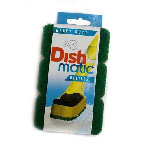 9-heavy-duty-dishmatic-green-refill-sponges