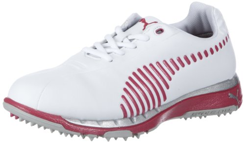 PUMA FAAS Grip Wns Golf Shoes Womens White Weià (white-cabaret 0005) Size: 3 (35.5 EU)
