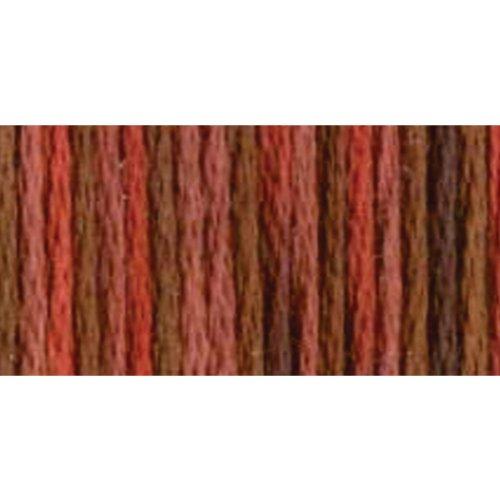 DMC 417F-4135 Color Variations Six Strand Embroidery Floss, 8.7-Yard, Terra Cotta