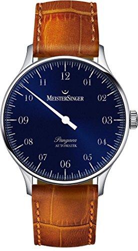 MeisterSinger Pangea PM908 Reloj automático con sólo una aguja Diseño Clásico