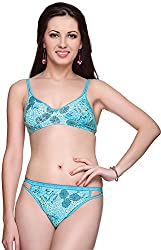 Vanila Wirefree Floral Print Non-Paddded Bra (Pack Of 1)- 30