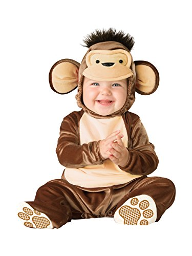 Curious George costume baby