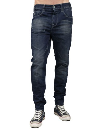 Japan Rags 870 Basic Skinny Blue Man Jeans Men - W34