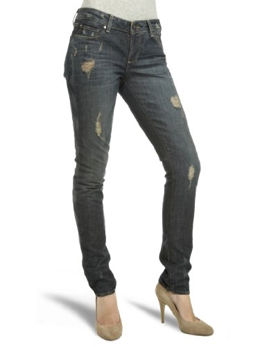 Paige Skyle 12ch Peg Skinny Women's Jeans Harlow destruction 30W x 34L